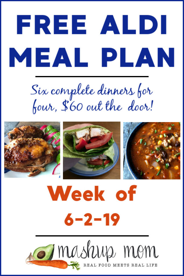 aldi meal plan week of 6-2-19