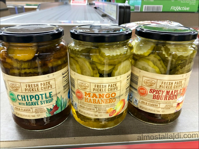 ALDI fresh pack pickle chips