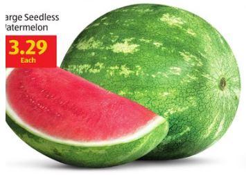 seedless watermelon at aldi this week