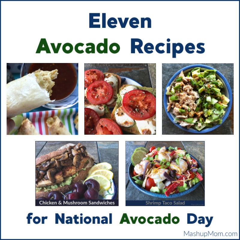 avocado recipes for national avocado day