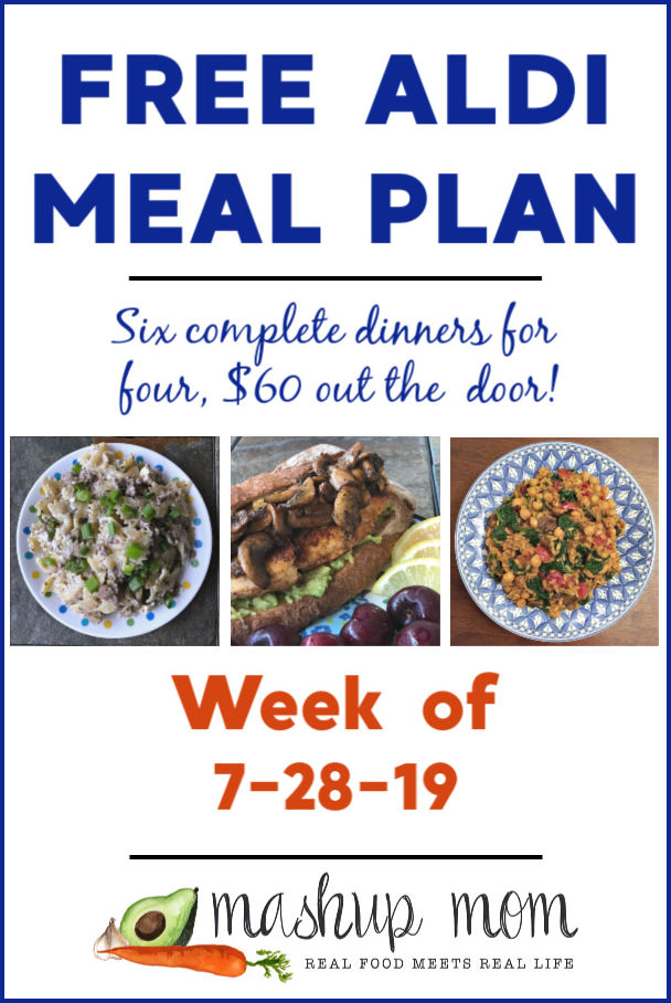 aldi meal plan week of 7/18/19