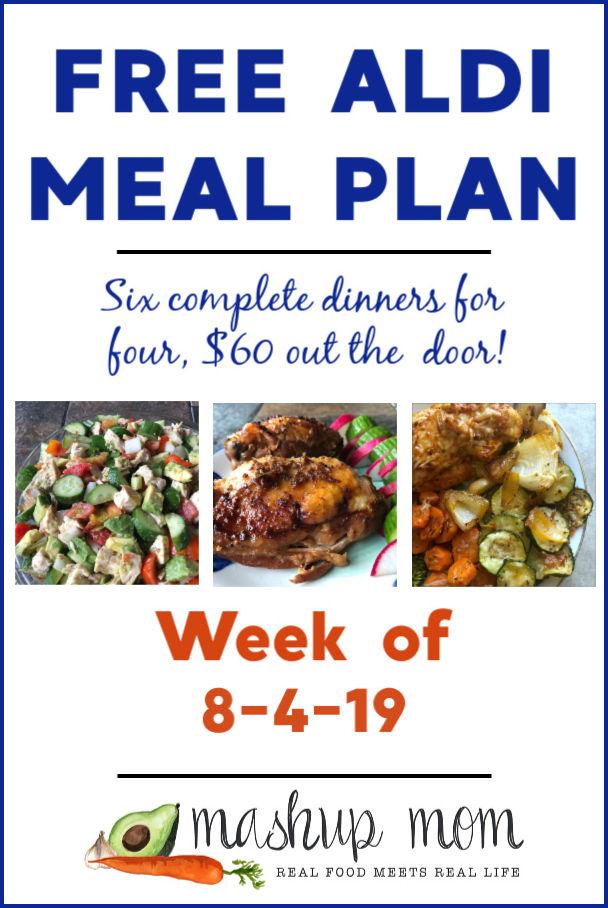 aldi meal plan week of 8/4/19