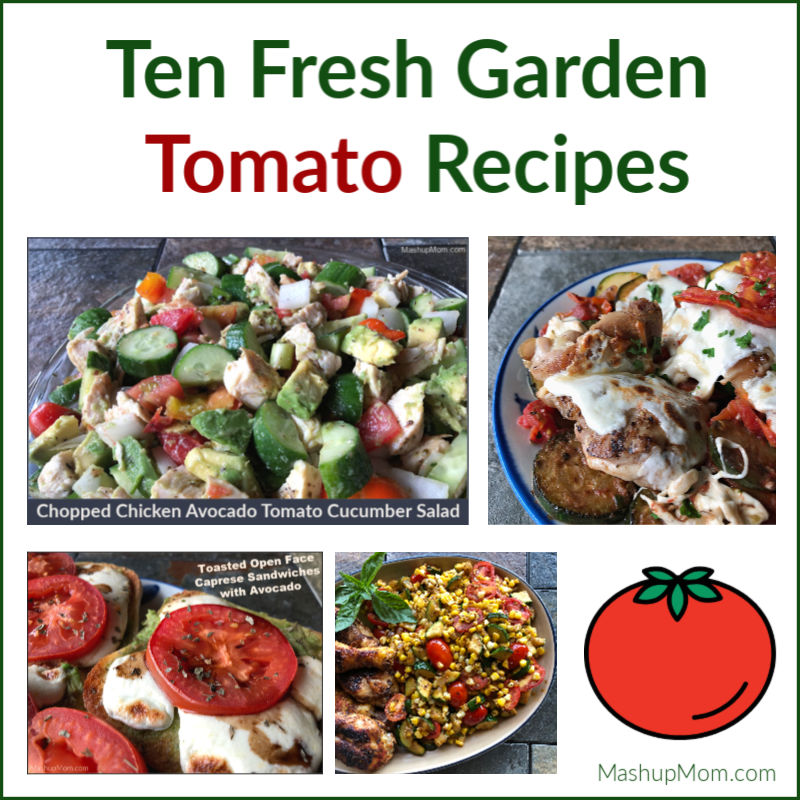 ten fresh garden tomato recipes
