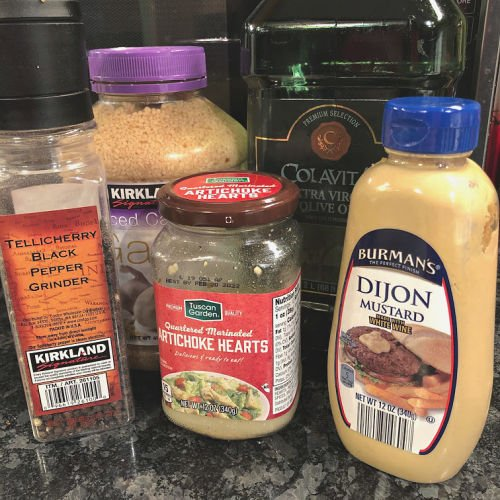 artichoke marinade salad dressing ingredients