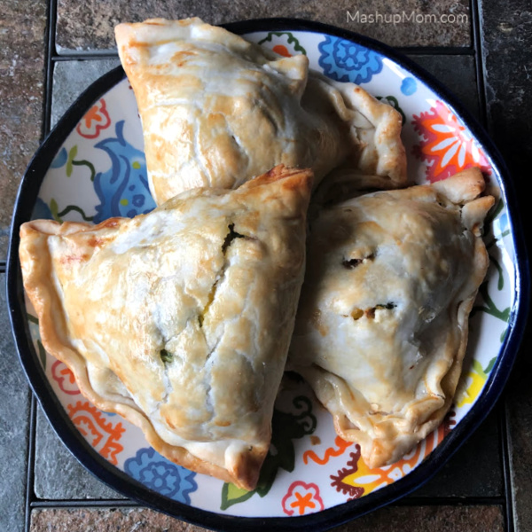 plate of three hand pies