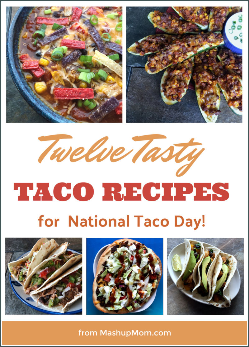 twelve tasty taco recipes roundup for taco tuesday or national taco day