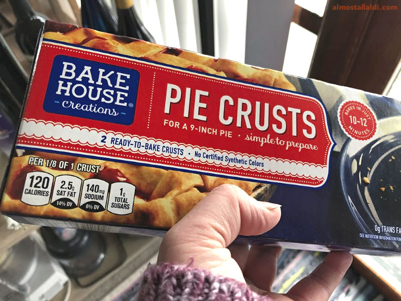 bake house creations pie crusts from aldi