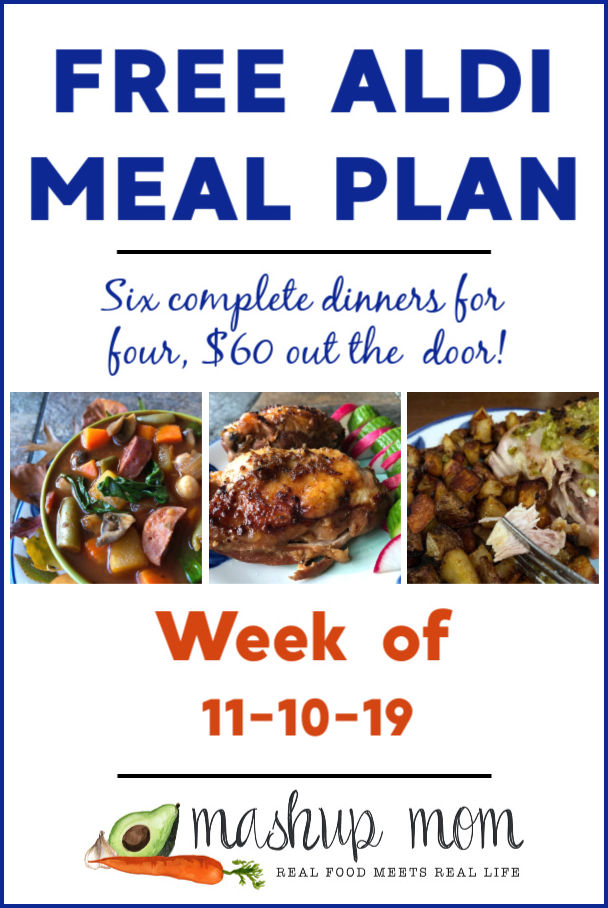 aldi meal plan week of 11/10/19