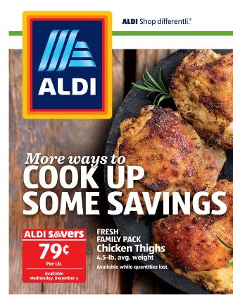 chicken thighs on sale at ALDI