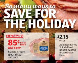 ham on sale at aldi