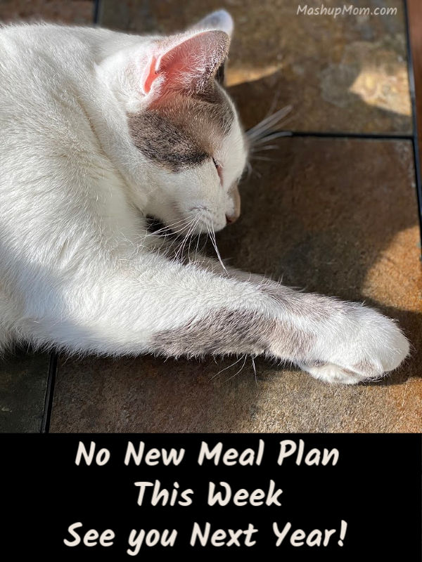no new ALDI meal plan this week -- see you in 2020!