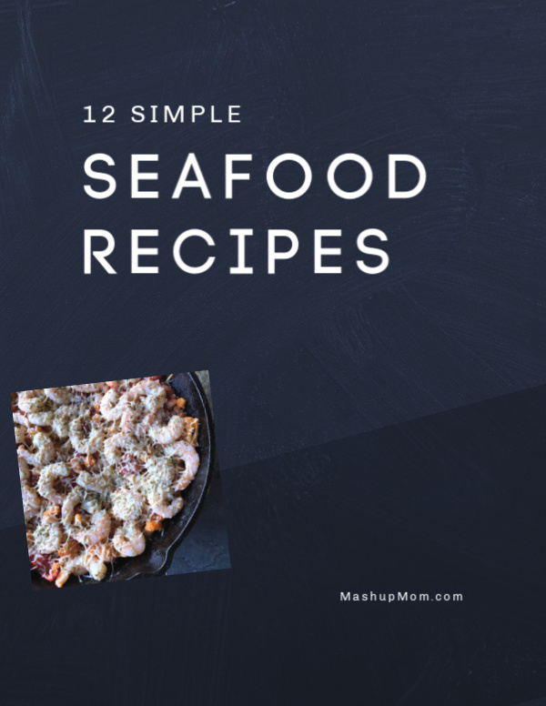 Twelve simple seafood recipes for Lent -- or, for any weeknight when you want to change things up with a quick fish or shrimp dinner!