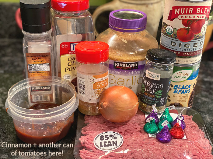 chocolate chipotle chili ingredients