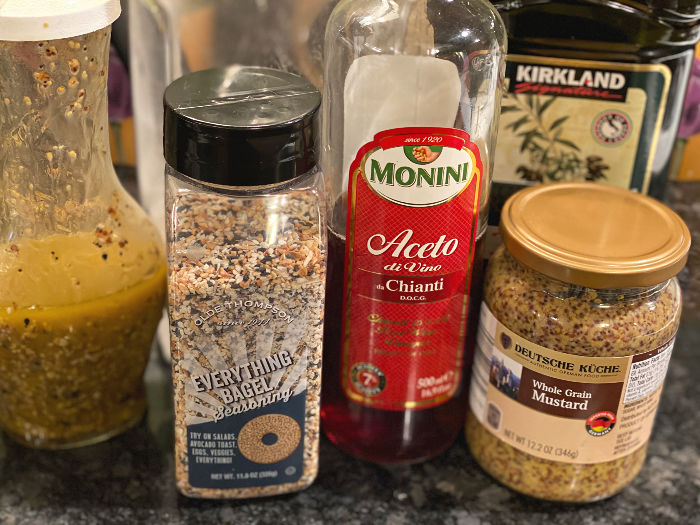 everything marinade ingredients -- for chicken and veggies