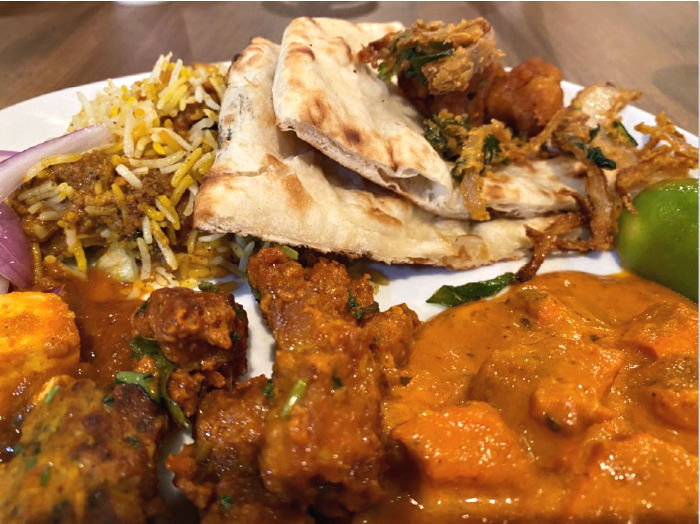 Indian food from the best buffet