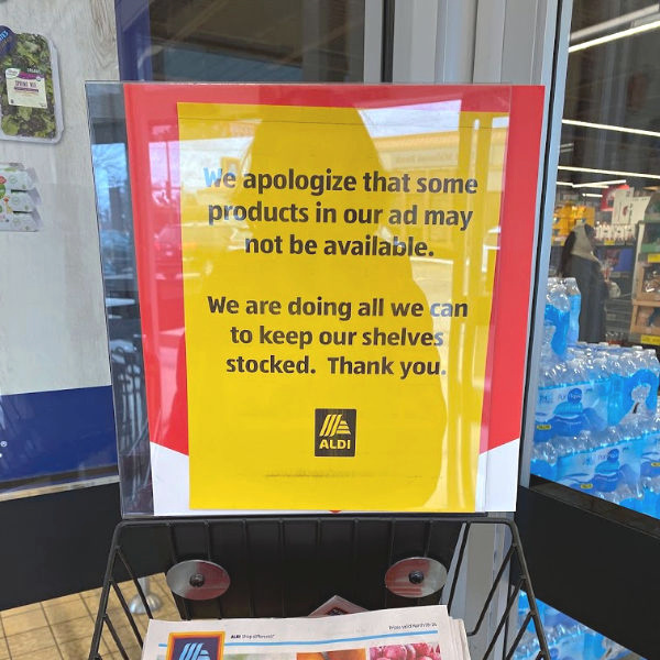 Stock may be limited in this week's ALDI ad