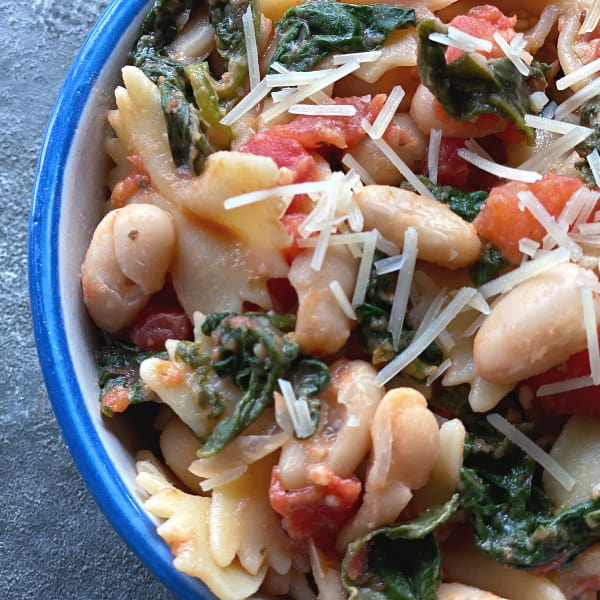 bowties & beans pasta in 10 quick meals under 30 minutes