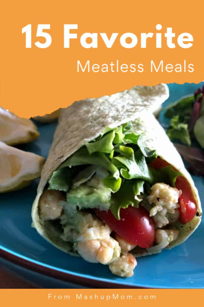 Fifteen favorite meatless meals: Vegetarian Recipe Roundup