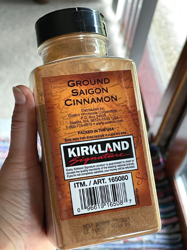 Saigon cinnamon from Costco