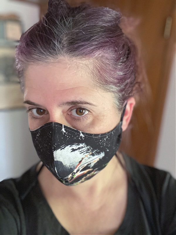 star wars themed face mask