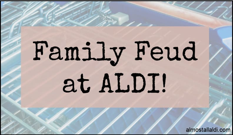 family feud at ALDI, the drama escalates