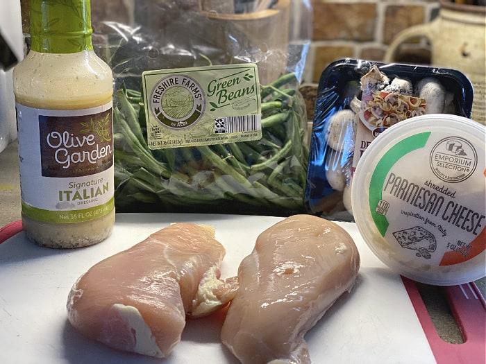 Olive garden dressing chicken ingredients