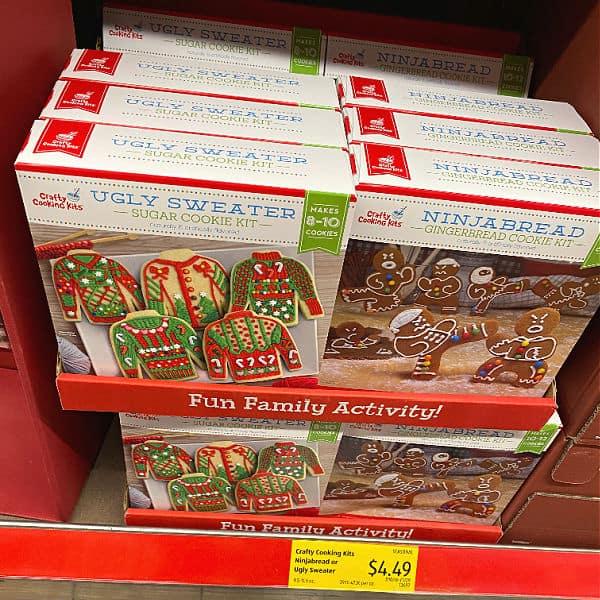 ninjabread cookie kit at aldi