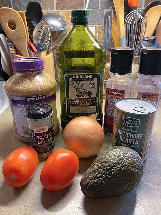 artichoke salsa ingredients