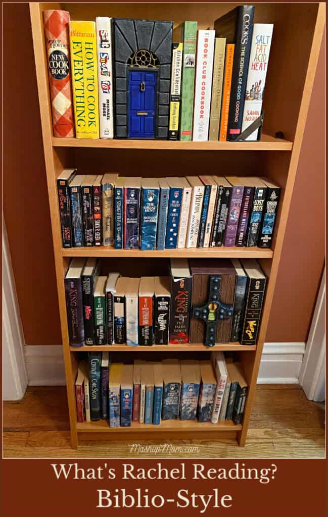 What's Rachel Reading -- Biblio-Style book review, decorating with books!