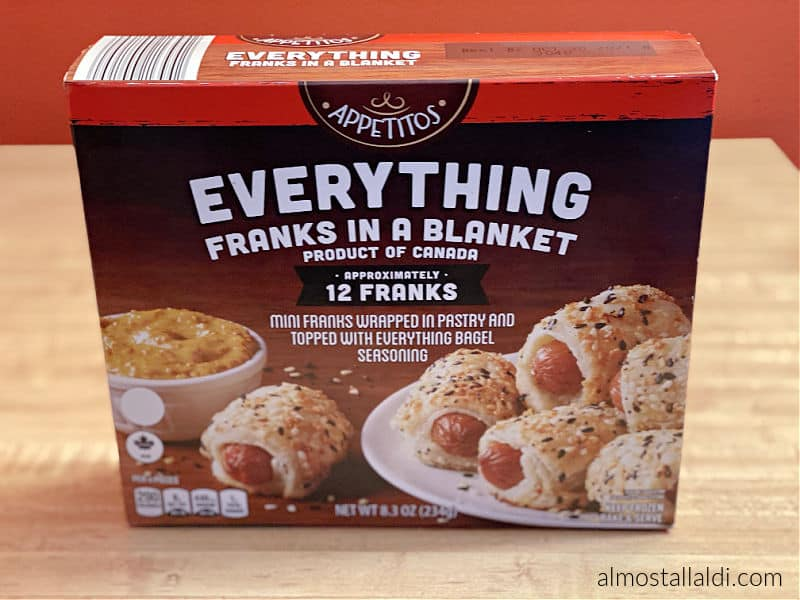 everything franks in a blanket from ALDI