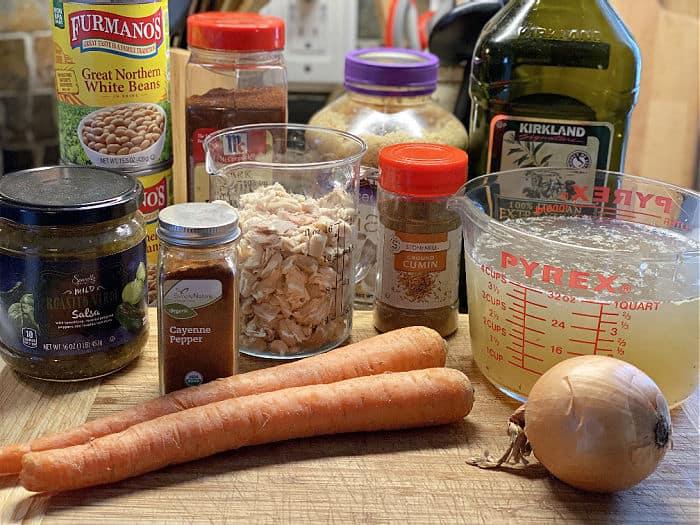 salsa verde chicken soup ingredients