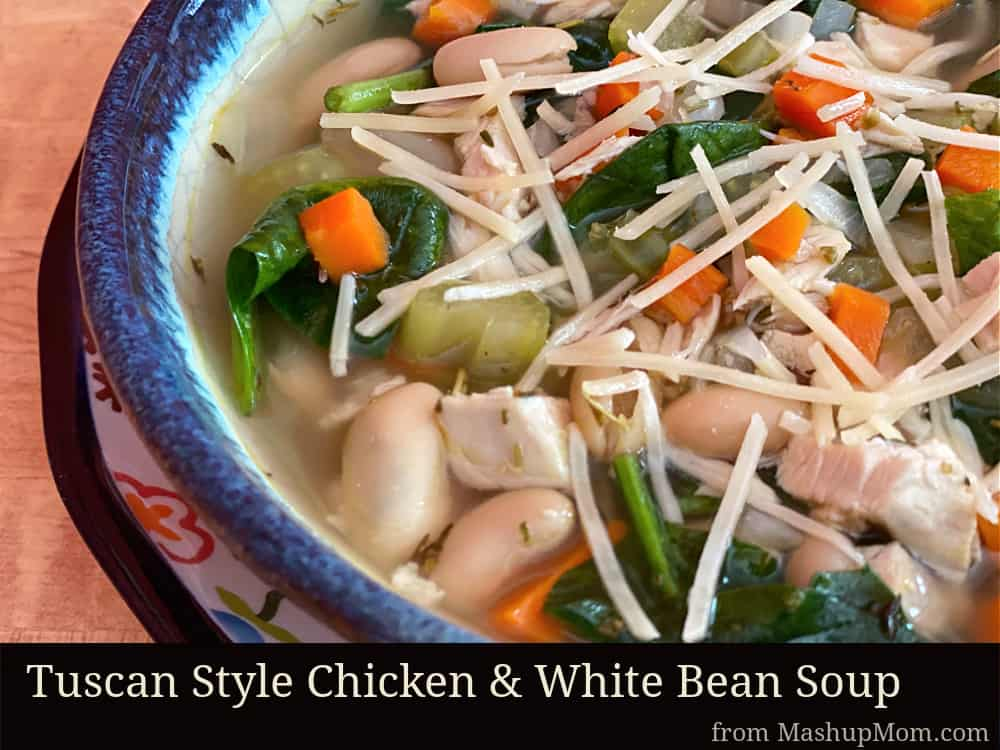 tuscan style chicken and white bean soup