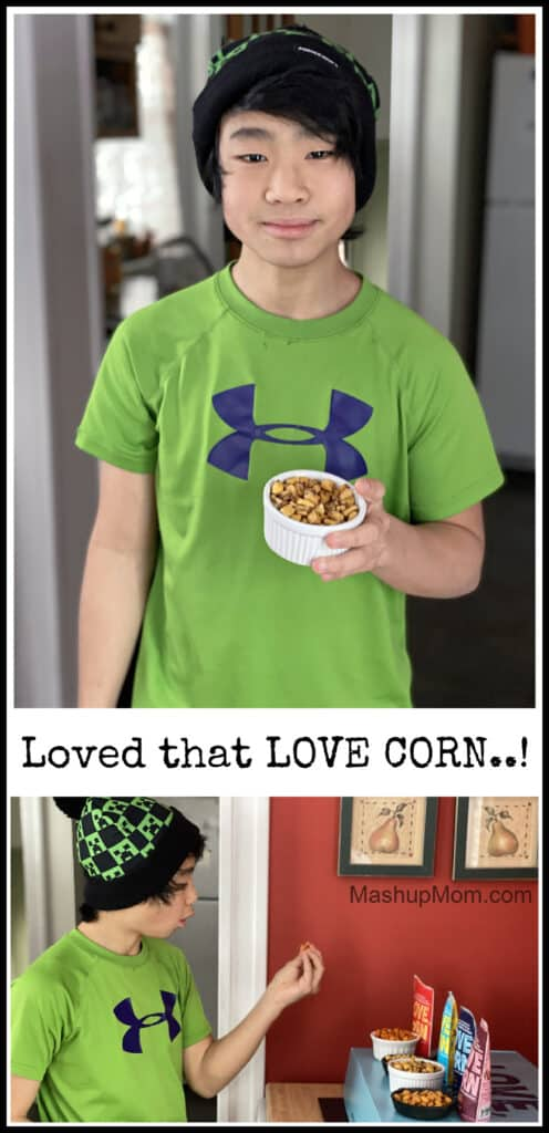 LOVE CORN crunchy corn snacks, a review!