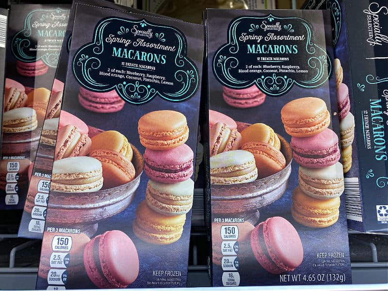 spring macarons in this week's ALDI Finds
