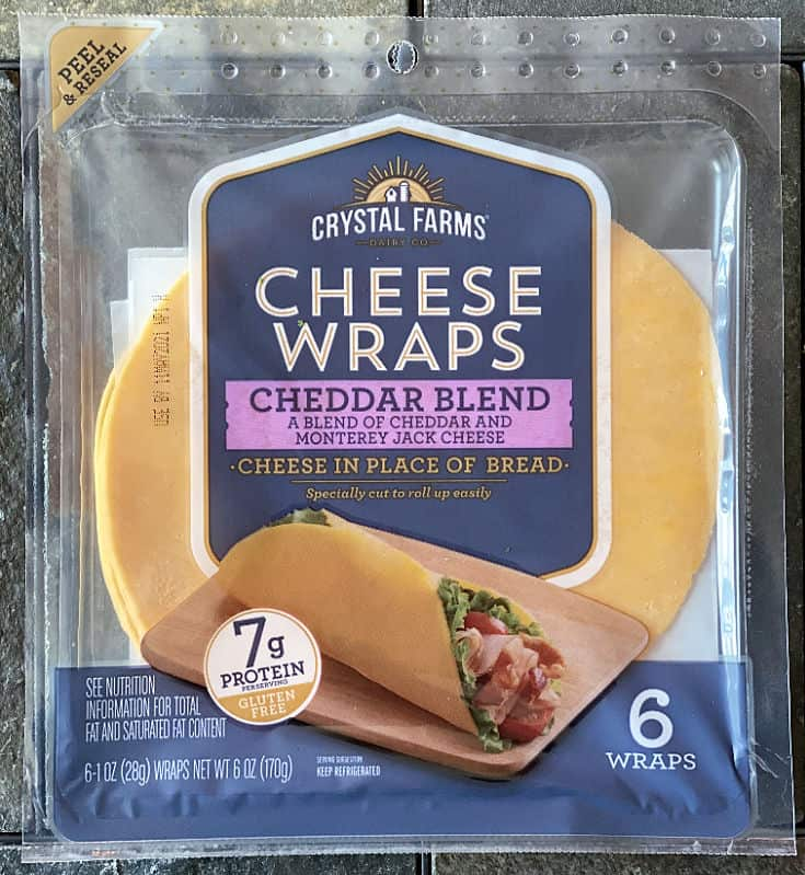 New Cheddar Blend Cheese Wraps