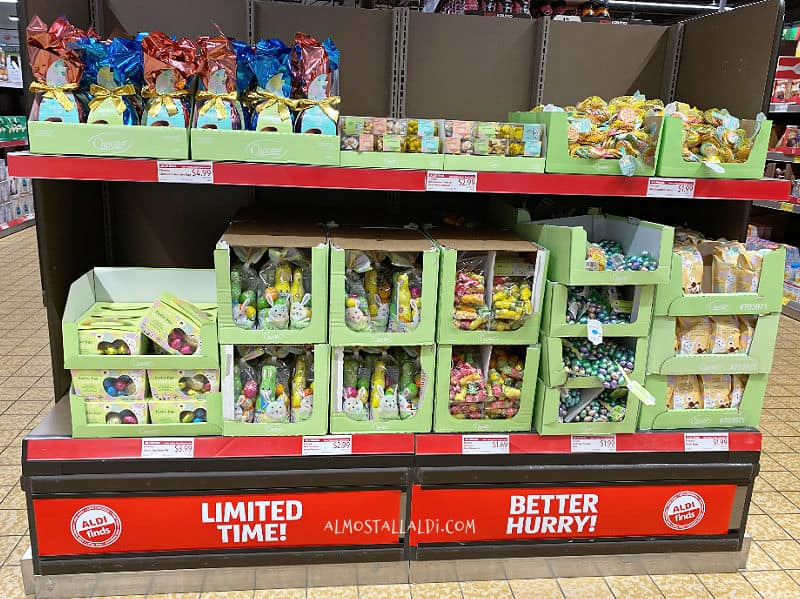 Easter Candy in this week's ALDI Finds