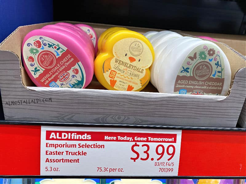easter cheese in this week's ALDI Finds
