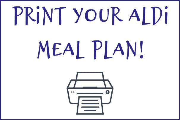 print this week's ALDI meal plan