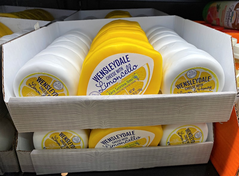 lemon cheese in this week's ALDI Finds