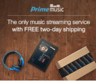 Prime music streaming