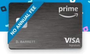 amazon prime rewards visa card
