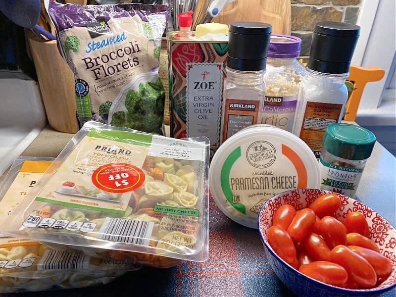 vegetarian tortellini ingredients