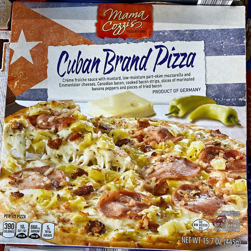 cuban pizza in this week's ALDI Finds