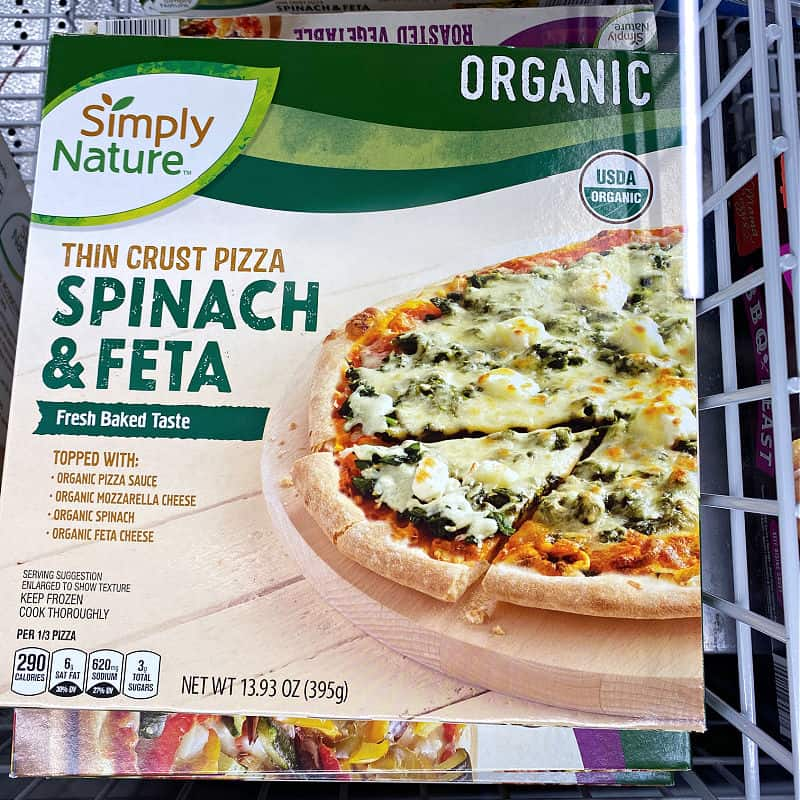 organic pizza in this week's ALDI Finds