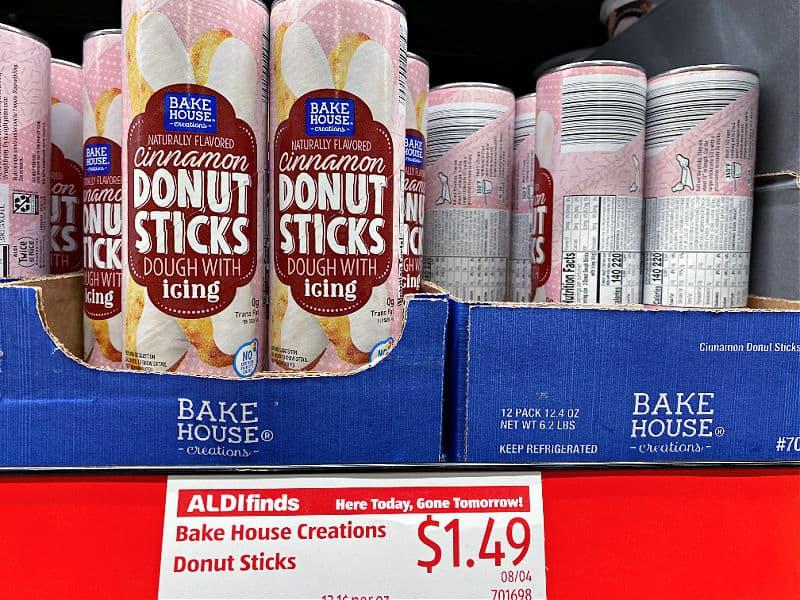 donut sticks at ALDI