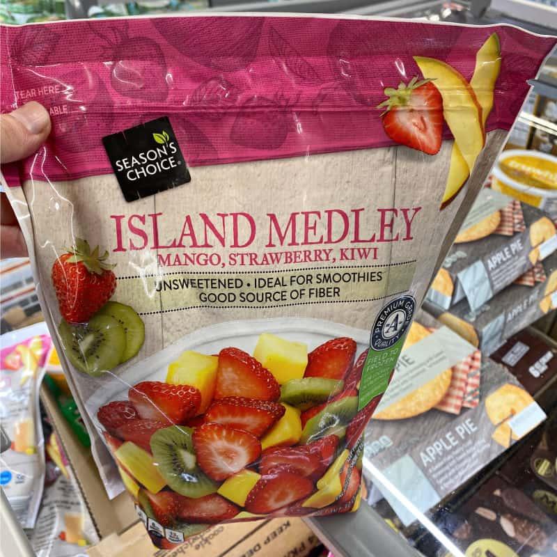 island medley fruit at aldi