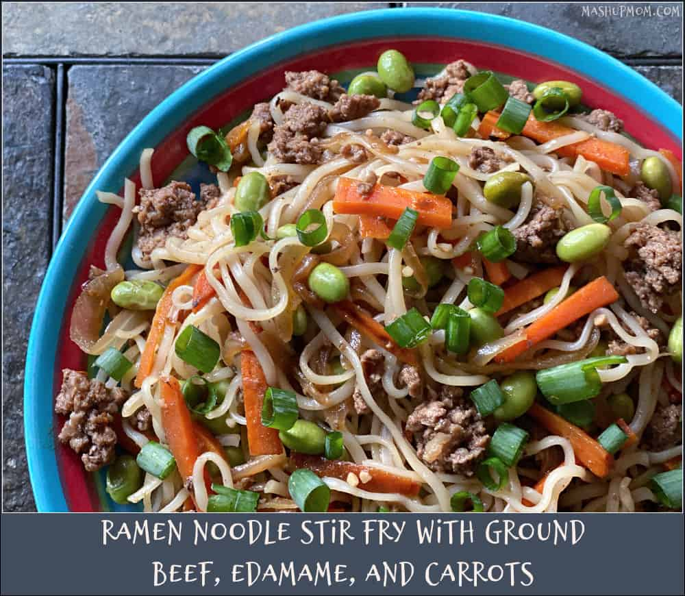ramen noodle stir fry in this week's ALDI meal plan