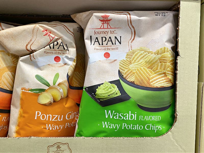 wasabi potato chips in this week's ALDI Finds