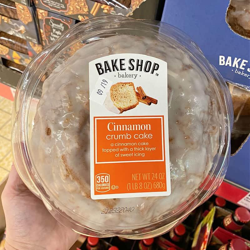 aldi cinnamon crumb cake