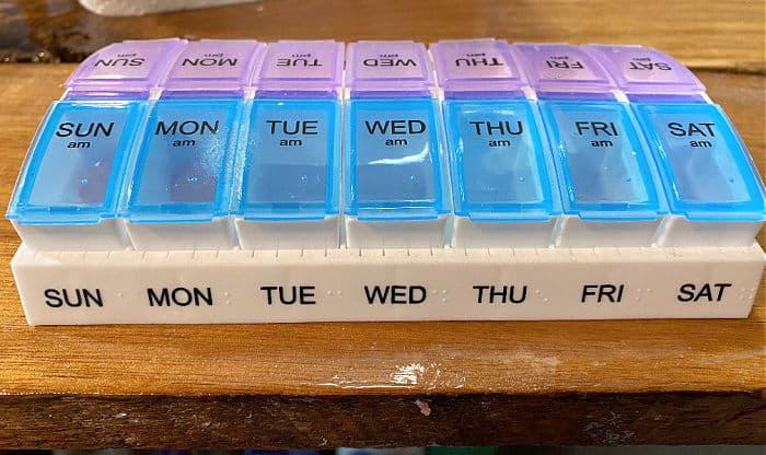 aldi pill organizer